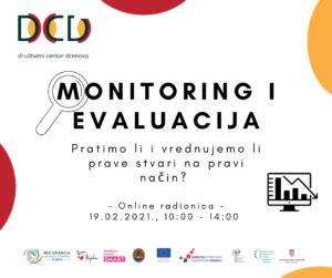 Monitoring i evaluacija – Pratimo li i vrednujemo li prave stvari na pravi način?