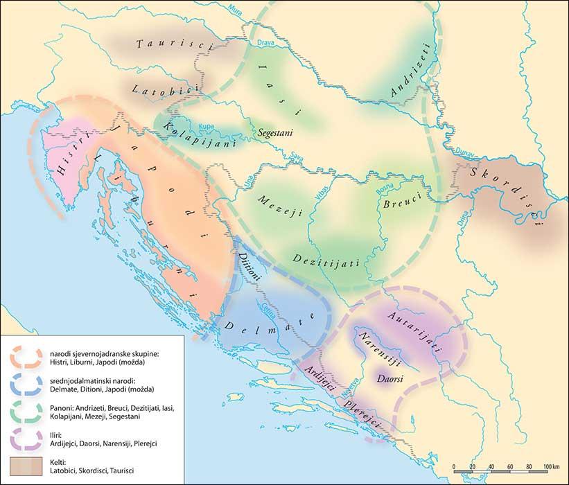 karta ilirije